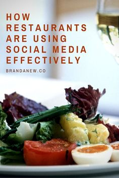 #socialmedia #marketing Learn how restaurants are using social media effectively and implement these cool strategies for your local businesses via brandanew.co