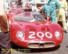 "n.200 Alfa Romeo 33 , ""geki"" (Giacomo Russo) - Nino Todaro , categoria sport prototipi-classe da 1001 a 2000 cc , non classificati , 17°camp.internazionali a 3 giri"