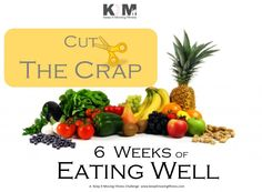 6 weeks of eating well - ITS FREE