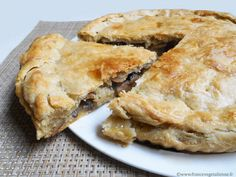 Vegan Vegetarian, Vegetarian Recipes, Spanakopita, Veggie Recipes, Deli, Apple Pie, Food To Make, Main Dishes, Stuffed Mushrooms