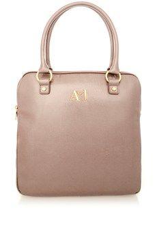0feb1e2572c7 ARMANI JEANS CANDY Dusty Pink Shopper Bag Shopper Bag