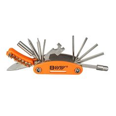 20 In 1 Bicycle Repair Tool Hexagon Screwdriver Wrench Set Open Ended Spanner Safety Knife #bicyclerepair