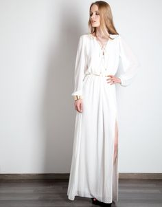 Φόρεμα maxi jacquard image 1
