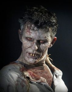 Famous Monster Magazine, Monster makeup Masterclass. By me. All done right out of the kit...