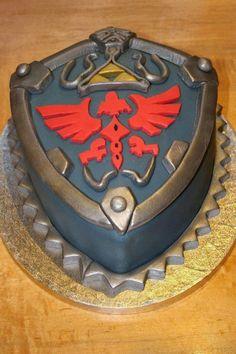 Que arrecha esta torta!!!! Zelda Cake #Nintendo #TheLegendofZelda #Gaming