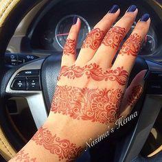 Henna @hennabynasima
