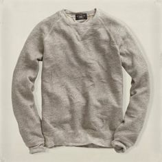 Fleece Crewneck Sweatshirt / RRL