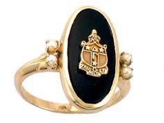 Beautiful Antique Ring for Delta Gamma Members! www.jbrandt.com