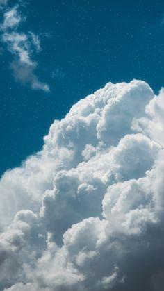 Clouds in the blue sky Wolken am blauen Himmel mir Pink Clouds Wallpaper, Baby Blue Wallpaper, Night Sky Wallpaper, Iphone Background Wallpaper, Of Wallpaper, Flower Wallpaper, Beautiful Wallpaper, Aesthetic Backgrounds, Blue Backgrounds