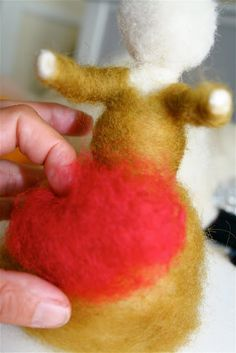 needle felted figure tutorial