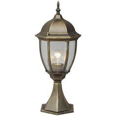 Sockelleuchte Jopling Marlow Home Co. Led Color, Lamp, Pedestal, Lantern Head, Lantern Post, Light, Post Lights, Lantern Lights, Perfect Lights