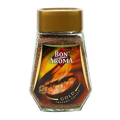 Instant Coffee Organic Freeze Dried Bon Aroma Gold Taste Anytime Net WeightT 100g * You can get more details by clicking on the image. (This is an affiliate link)
