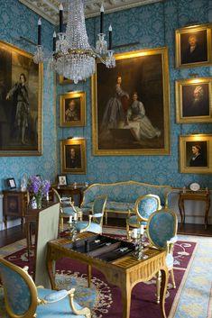 Castle Rooms, Castle Howard, English Interior, Royal Palace, North Yorkshire, Carlisle, Drawing Room, England, Interiors