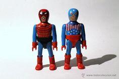 AIRGAM BOYS AIRGAM COMICS - RED MASKER Y STARS MAN - TIPO SPIDERMAN Y CAPITÁN AMÉRICA - AIRGAMBOYS