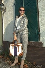 metallic --> Oceanblue Style at Manderley #fashionblog #over40