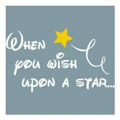 when you wish upon a star✨