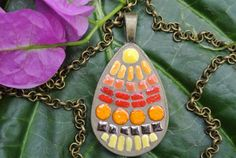 Follow the Sun Pendant by MosaicJewelrybyCrys on Etsy, $35.00