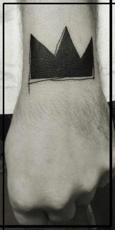 Lovely #crown #tattoo #wrist