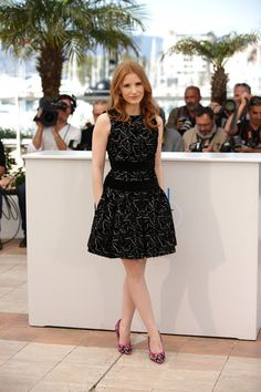 """Jessica Chastain Photos - Actress Jessica Chastain attends """"The Disappearance of Eleanor Rigby"""" photocall at the 67th Annual Cannes Film Festival on May 18, 2014 in Cannes, France. - """"The Disappearance Of Eleanor Rigby"""" Photocall - The 67th Annual Cannes Film Festival"""