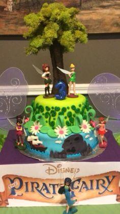 Disney pirate fairy cake