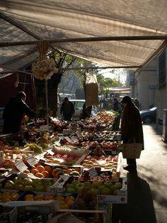Mercato in Via Ampère