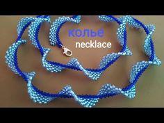 Jewelry Making Tutorials, Beading Tutorials, Seed Bead Necklace, Beaded Necklace, Ruffle Beading, Beaded Jewelry Designs, Beading Techniques, Bracelet Tutorial, Handmade Accessories