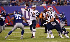 Tom Brady plays a half in Patriots preseason finale