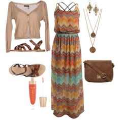 """Summer Sundress"" by leahlouise17 on Polyvore"