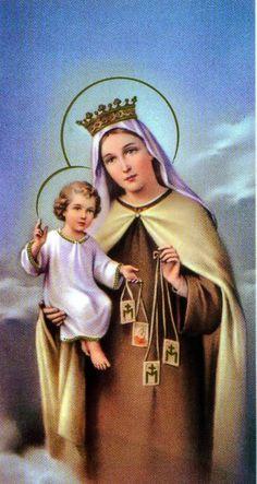 Novena to Our Lady of Mount Carmel | Maria Angela Grow