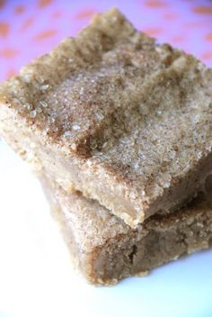 Snickerdoodle Brownies... I've never seen or tasted these before?!! Yum?