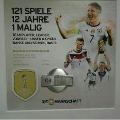 Image about Best in German National Team by Rebeka Dfb Team, Bastian Schweinsteiger, Germany Football, Baseball Cards, Instagram Posts, Sports, Bavaria, Football Soccer, Hs Sports