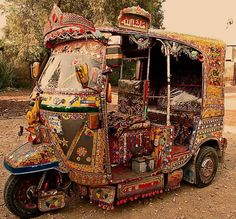 Truck & bus decoration in Pakistan.