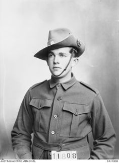Private Herbert Spencer Roberts (56) Regimental Signallers, Headquarters, 31st Battalion, of Maryborough, Qld.  Enlisted on 24 July 1915 and embarked from Melbourne aboard either HMAT Bakara on 5 November 1915 or HMAT Wandilla on 9 November 1915. He returned to Australia as a member of the 3rd Field Ambulance.