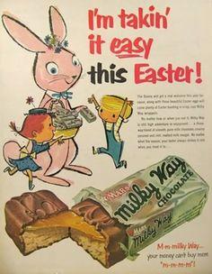 Bunny Easter Milky Way