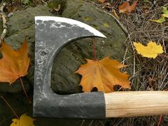 Medieval lumberjack axe by Jiří Javůrek.