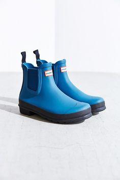 Hunter Original Two-Tone Chelsea Rain Boot