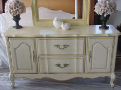 Before - French Provincial Buffet