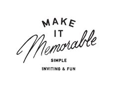graphicdesignblg: Make it Memorable by Daniel Patrick SimmonsTwitter || Source