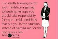 Aw sooooo true!! You made your decision........ now face the consequences!!