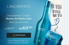 Compre Online na Rede Natura, produtos em oferta até dia 07/08. Acesse ou click na imagem www.rede.natura.net/espaco/NATURACAMIS ❤😚