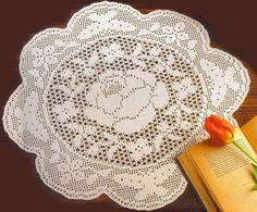 Delicadezas en crochet Gabriela: Mantel
