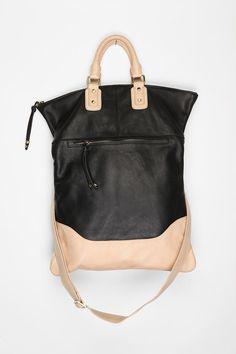 Sabina Two-Tone Leather Tote Designer Bags 32c1bcf6e327d