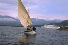 Bruno Barbey, 2001.  Calvi bay. A traditional fishing boat.