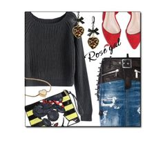 """""""Street Casual"""" – created by CzeCze.  Entered in the """"Ripped Sweater"""" contest, """"Express your Style!!!"""" group.  ROSEGAL EXTRA $30-$3,$50-$5,$100-$10 SITE WIDE CODE: ROSEPS2017 ( end: 31st March) http://www.rosegal.com/sweaters-33/?lkid=109338"""