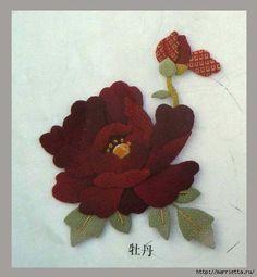 Цветочная аппликация от китайских мастериц (11) (533x576, 108Kb)