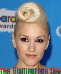 Pin-Up Girl Hairstyle #2- Victory Rolls / Pompadour Hairstyle   The Glamourous Life: Celebrity Fashion, Hairstyles, Lifestyle and Gossip