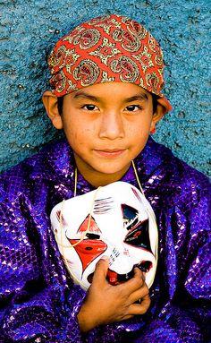 The people of Mexico: Santa Fe de la Laguna, Michoacan, Mexico