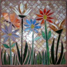 Mosaic Flower Garden by sabejarano