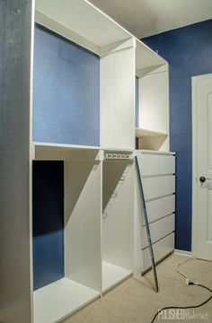 Adventures In Closet Building {Organized Glam Closet   One Room Challenge  Week #4. Diy Master ...