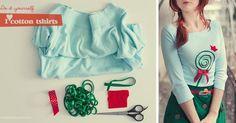 Nebavia a nudia vás jednofarebné tričká? Radi nosíte originálne veci, ktoré nemá každý? Máme pre Vás jednoduchý diy návod ako premeniť